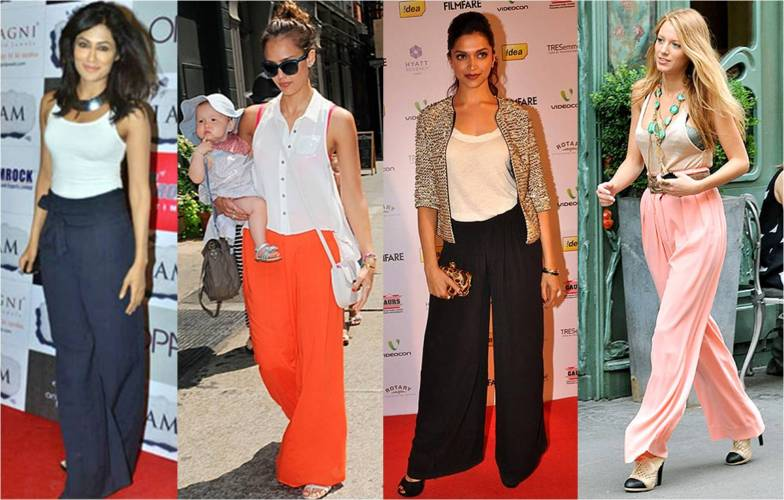 Celebs show us how to wear palazzo pants