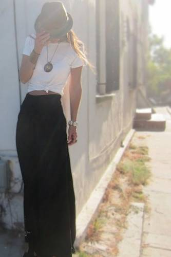 Crop Tops With Palazzo Pants