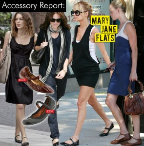 Mary Janes in Fashion Wearing Flats
