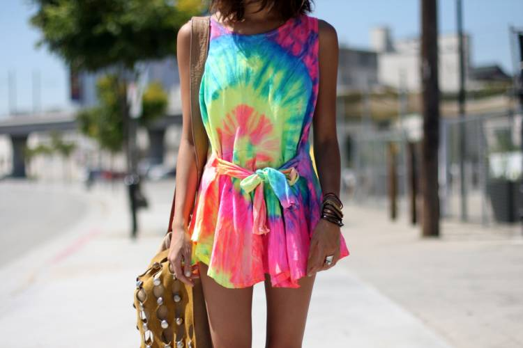 The Tie and Dye Look
