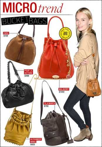 Bucket bags fashion glossary know your bags