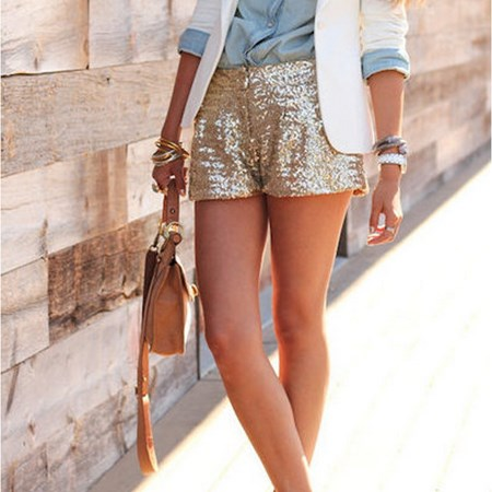 Click to buy the Sequins Shorts