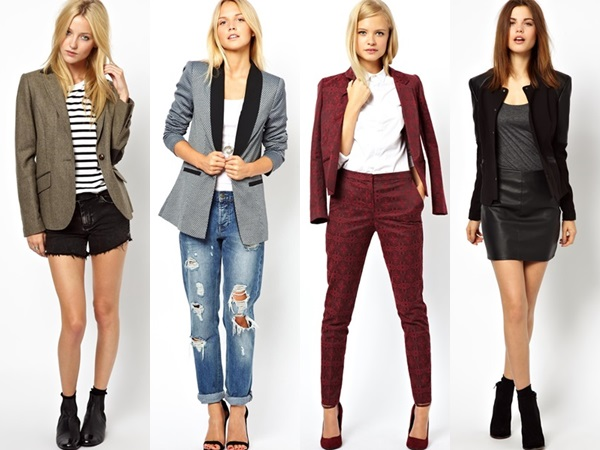 Different Ways to Wear a Blazer