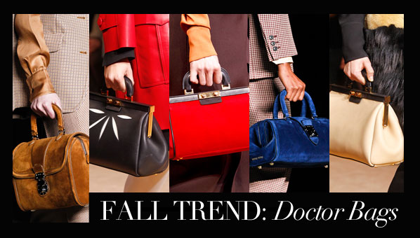 Doctor's bag fashion glossary know your bag