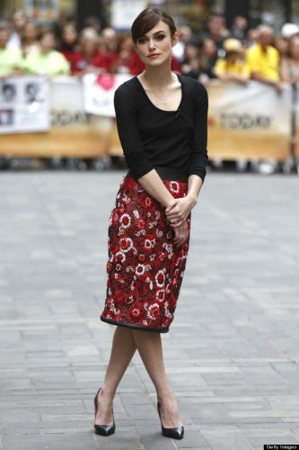 Keira Knightly Street Style