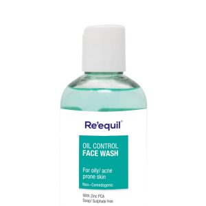 RE' EQUIL Oil Control Anti Acne Face Wash for Oily