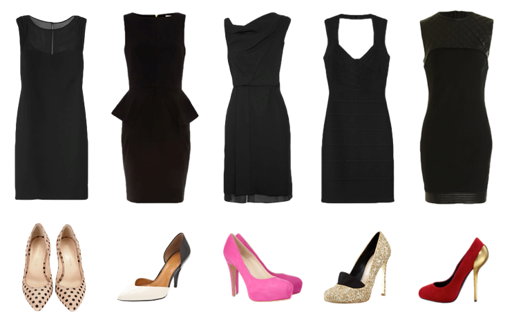 Shoes with LBD