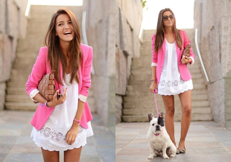 Summer Dress + Blazer