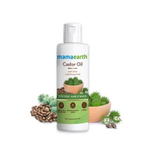 Mamaearth Pure and Natural Cold-Pressed Castor Oil