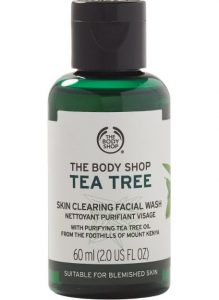 The Body Shop Tea Tree Skin Cleansing Facial Wash