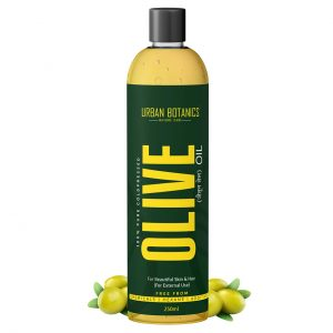 UrbanBotanics® Pure Cold Pressed Olive Oil For Hair
