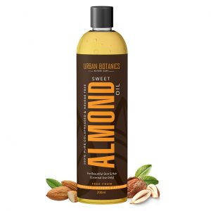 UrbanBotanics® Pure Cold Pressed Sweet Almond Oil for Hair and Skin
