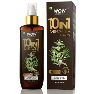 WOW 10 in1 Miracle No Parabens & Mineral Oil Hair Oil