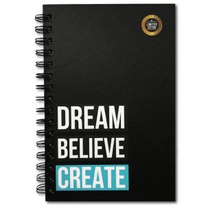 The positive store, Dream Believe Create Daily Planner